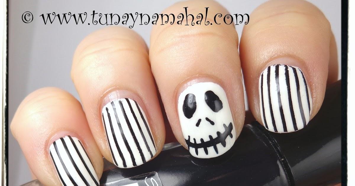 Jack Skellington Nails & Pumpkin Everything! | Tunay Na Mahal