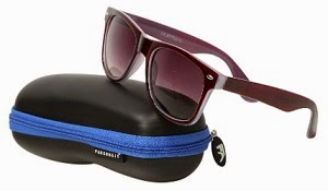 Farenheit Unisex Wayfarer Sunglasses-Maroon worth Rs.1800 for Rs.499 Only (For Today Only)