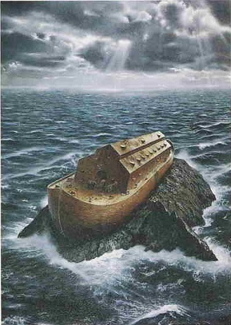As in the Days of Noah and the End Times Flood of Lies - Noah's Ark
