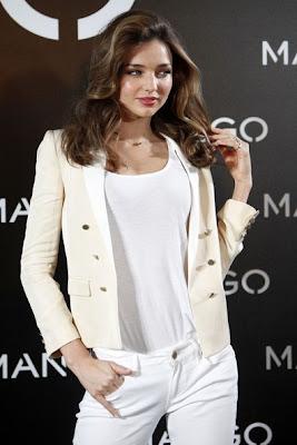 Miranda Kerr - New Face of Mango Victoria's Secret Angels Model