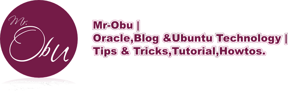 Oracle, Blog&Ubuntu