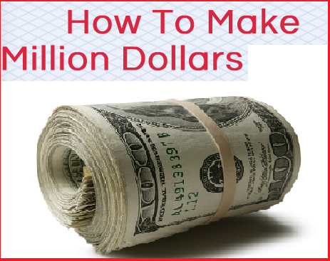 make million dollars logo banner