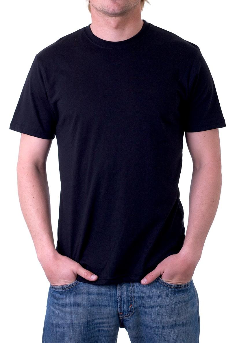 Black T Shirt Template Photoshop