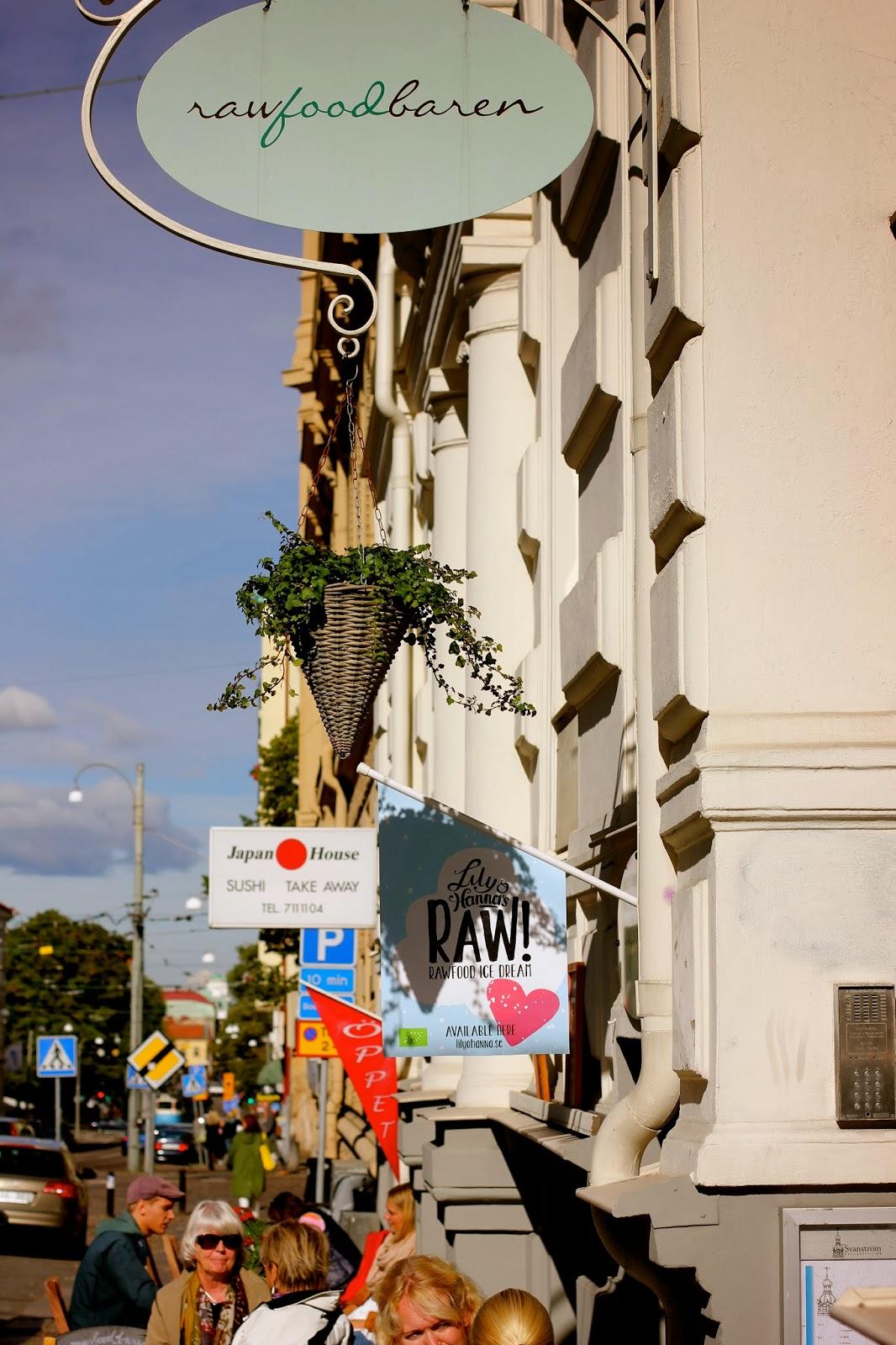 raw food cafe göteborg