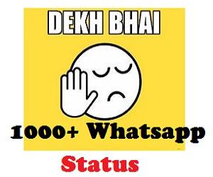 10000+ Free Whatsapp Status