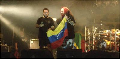Cavalera Conspiracy Concierto Venezuela 2012