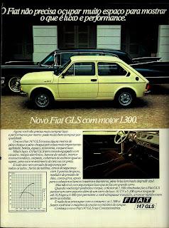 propaganda  Fiat 147 GLS - 1978; Fiat anos 70; Fiat decada de 70; reclame de carros anos 70. brazilian advertising cars in the 70. os anos 70. história da década de 70; Brazil in the 70s; propaganda carros anos 70; Oswaldo Hernandez;
