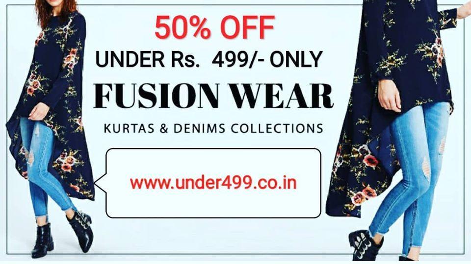 UNDER499 - Online Store