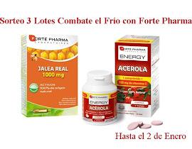 Sorteo 3 Lotes Combate el Frío con Forte Pharma