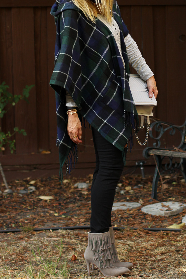 parlor girl poncho trend for fall