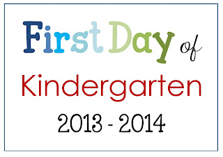 FREE PDF First Day of School Photo