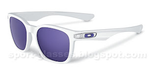 Oakley Garage Rock - 917502 - Polished White with Violet Iridium lenses
