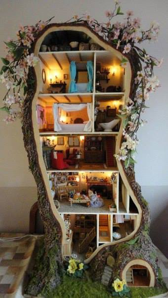 Incredible Miniature Doll House