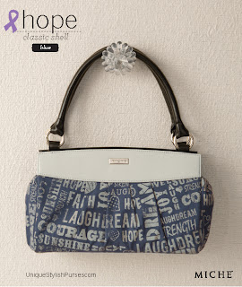 Hope Blue Shell for Classic Bags