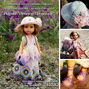 Журнал по вязанию крючком для кукол типа Paola Reina