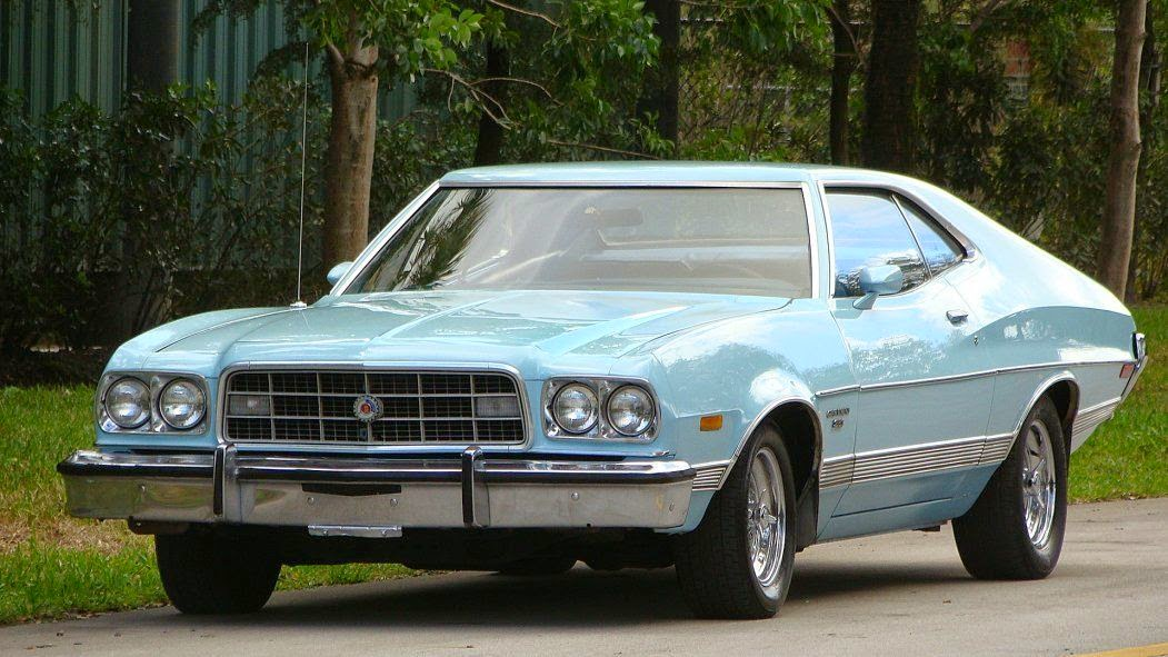 daily turismo 5k baby blues 1973 ford gran torino sport. Black Bedroom Furniture Sets. Home Design Ideas