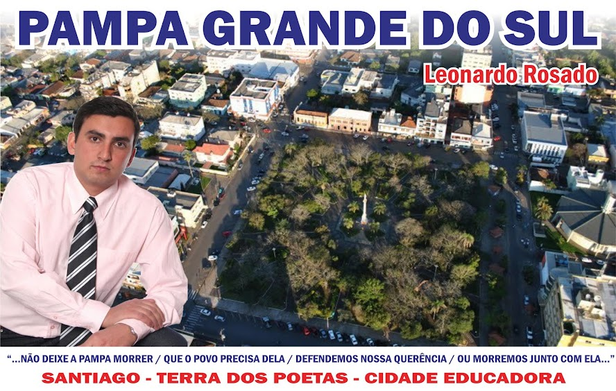 LEONARDO ROSADO - Pampa Grande do Sul