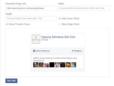 cara mudahmembuat like box facebook,tips seo,cara edit blog