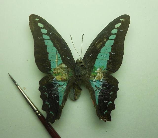 micro obras de arte sobre lienzos muy especiales