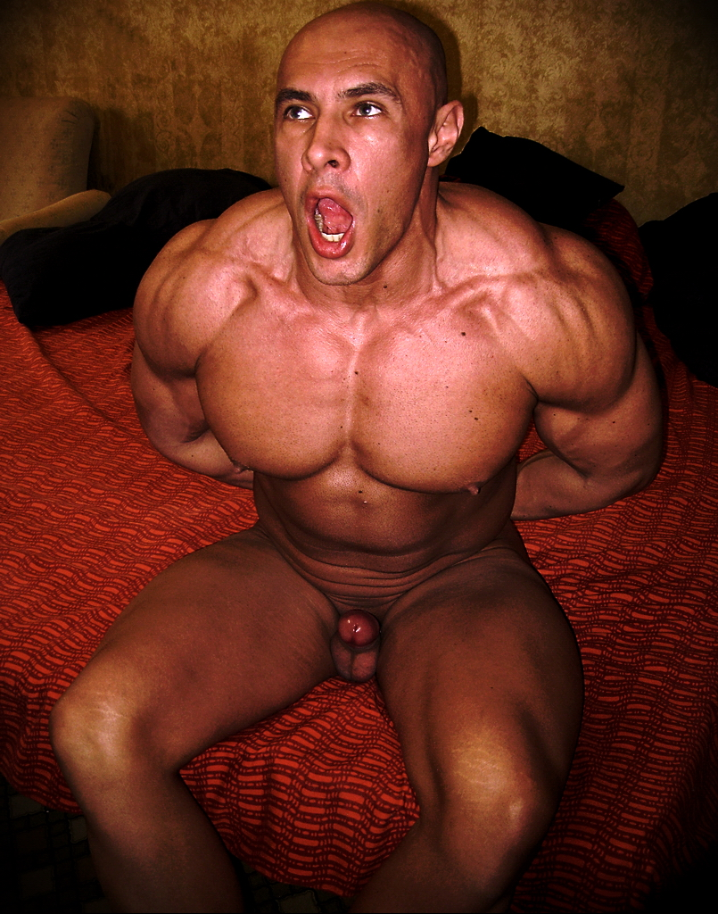 muscle men with big dicks