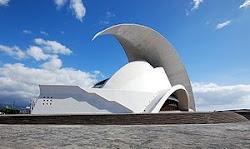 Auditorio de Tenerife, obra de Santiago Calatrava.
