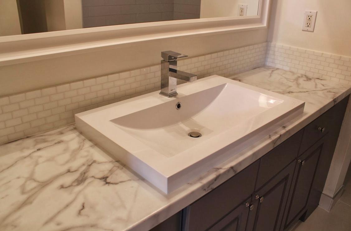 Semi Recessed Sinks  amp  My Bath Reno. Semi Recessed Sinks  amp  My Bath Reno   Interior Design Blog
