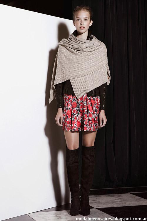 Jazmin Chebar otoño invierno 2014 faldas.