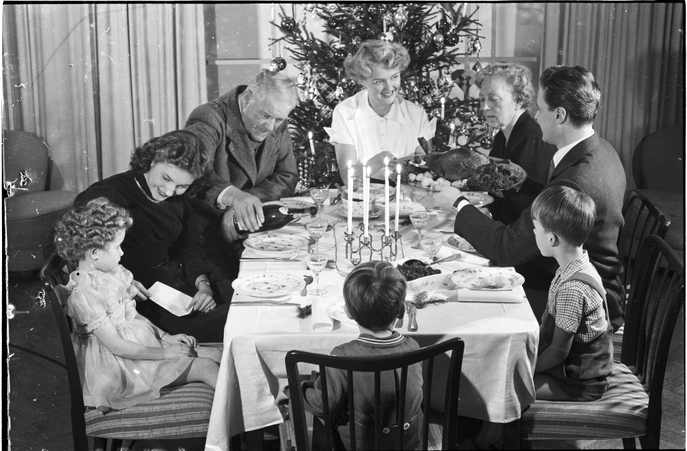 The Passion Of Former Days Celebrating Christmas
