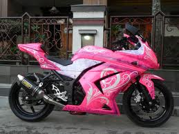 modifikasi kawasaki ninja,modifikasi motor ninja,modifikasi ninja