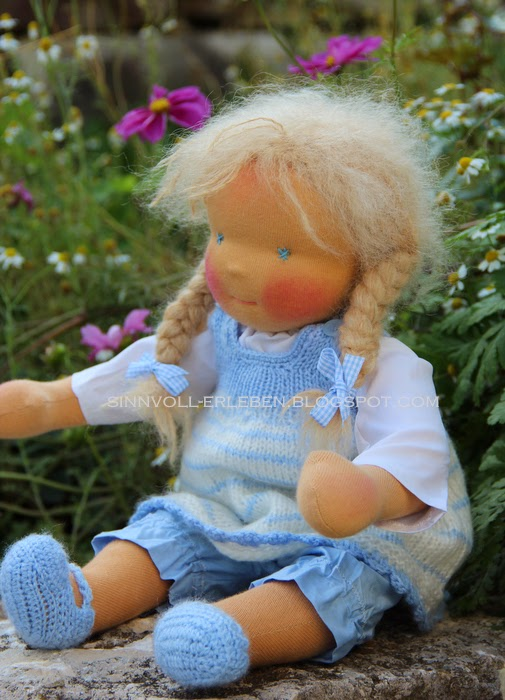 Babypuppe Lia