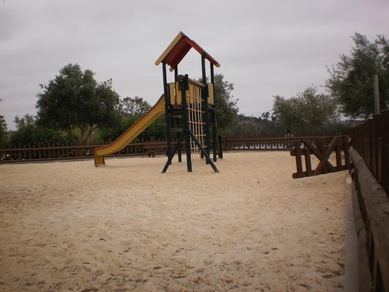 Parque Infantil da praia Fluvial