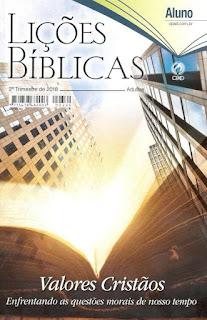 Revista de adultos do 2° Trimesre 2018