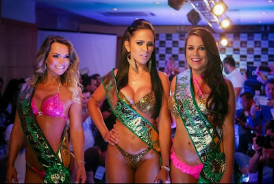 The booty Brazilian Dai Macedo is the winner Miss Bumbum 2013