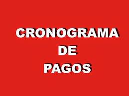 CRONOGRAMA PAGO DE HABERES MES DE OCTUBRE