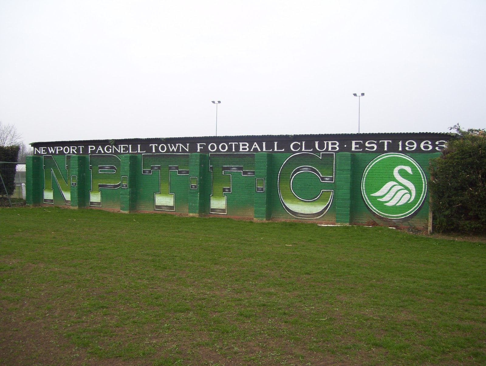 Pie and Mushy Peas: Newport Pagnell Town FC