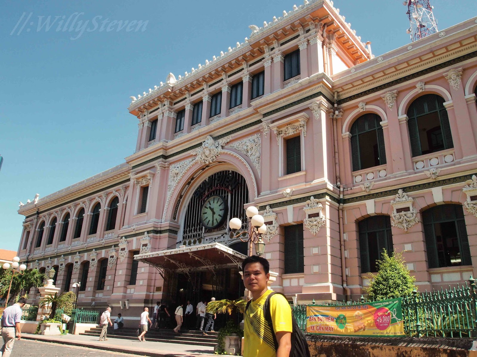 Minh Hcmc Central Post Office