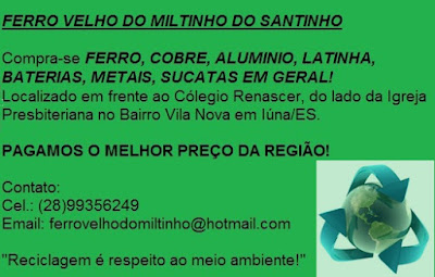 FERRO VELHO DO MILTINHO DO SANTINHO