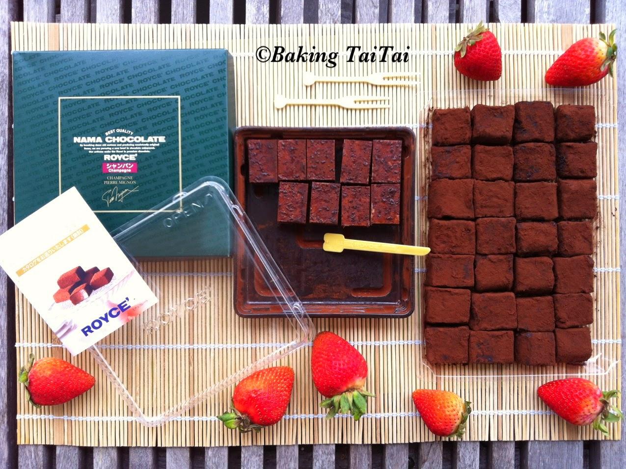 Baking Taitai 烘焙太太: Homemade Nama Chocolate