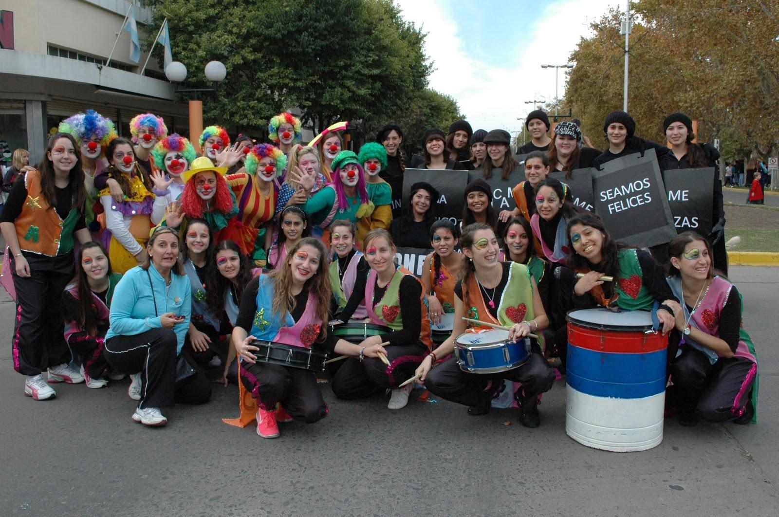 Se realizo el tradicional desfile de jardines de infantes for Jardin de infantes