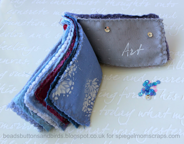 http://spiegelmomscraps.com/guest-designermessy-mixed-media-meditative-fabric-book/