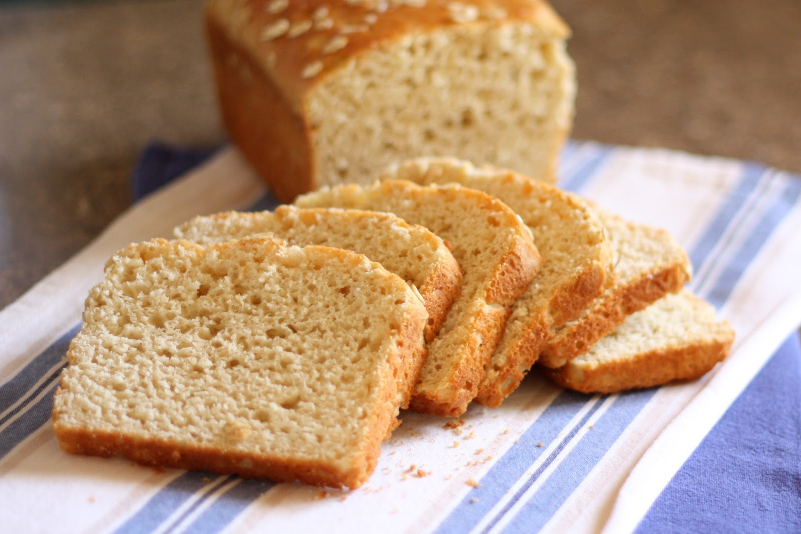 Barefeet In The Kitchen: Honey and Oat Gluten Free Bread