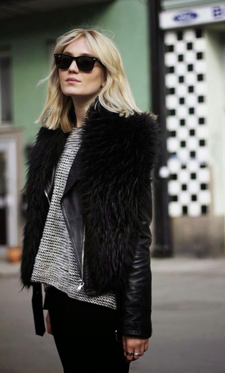 Marie Hinkaer Andersen from Blame it on Fashion, style blogger