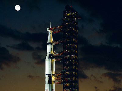 Apollo 4 on the pad