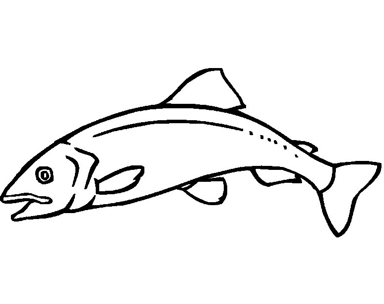 Animal Fishs Coloring Pages Images