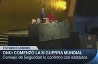 """ONU CONFIRMA: """"A TERCEIRA GUERRA JÁ COMEÇOU """""""