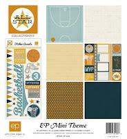 Echo Park, All Star Collection, Mini theme, scrapbooking, scrapbook kits, scrapbook paper