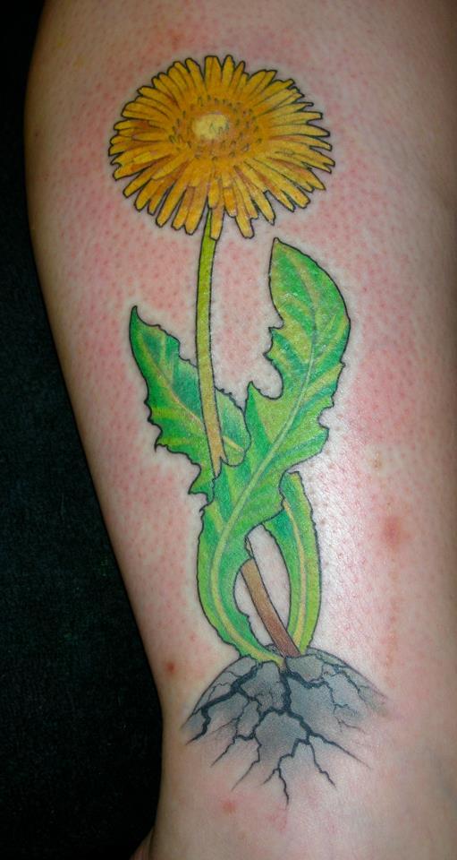 maskros tatuering