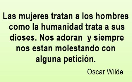 Frases celebres de Oscar Wilde
