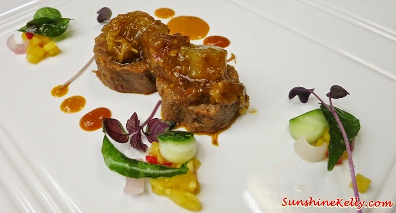 Sambal Beef Tongue, Tendon, Perchik Sauce, Achar Crudite, MIGF 2014 Menu, Nook Aloft Kuala Lumpur Sentral Review, Nook KL Sentral, MIGF 2014