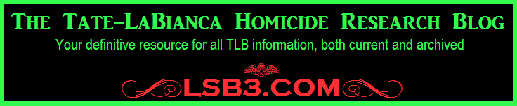 The Tate-LaBianca Homicide Research Blog